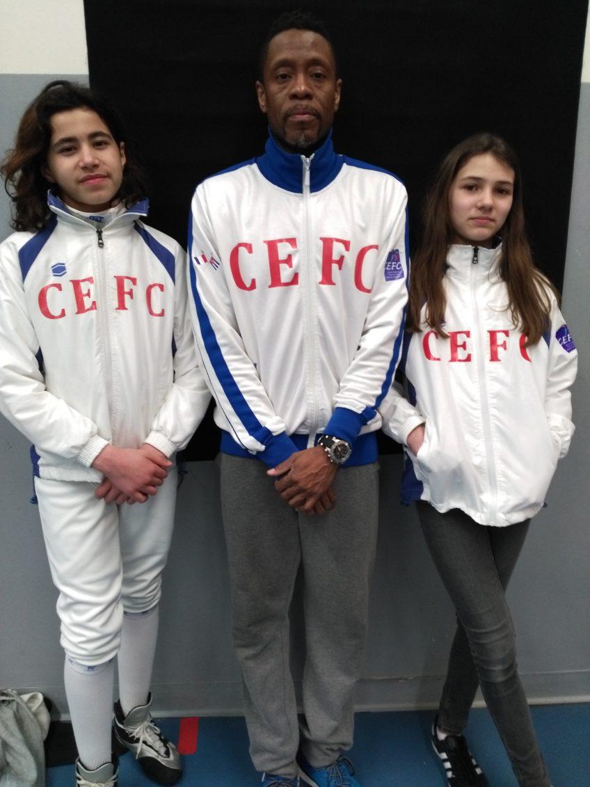 Tous avec Cécile, Rayan & Maître Eddy à Henin-Beaumont !