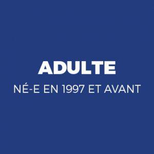 ADHÉSION Adulte