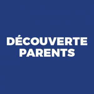 ADHÉSION Découverte parents