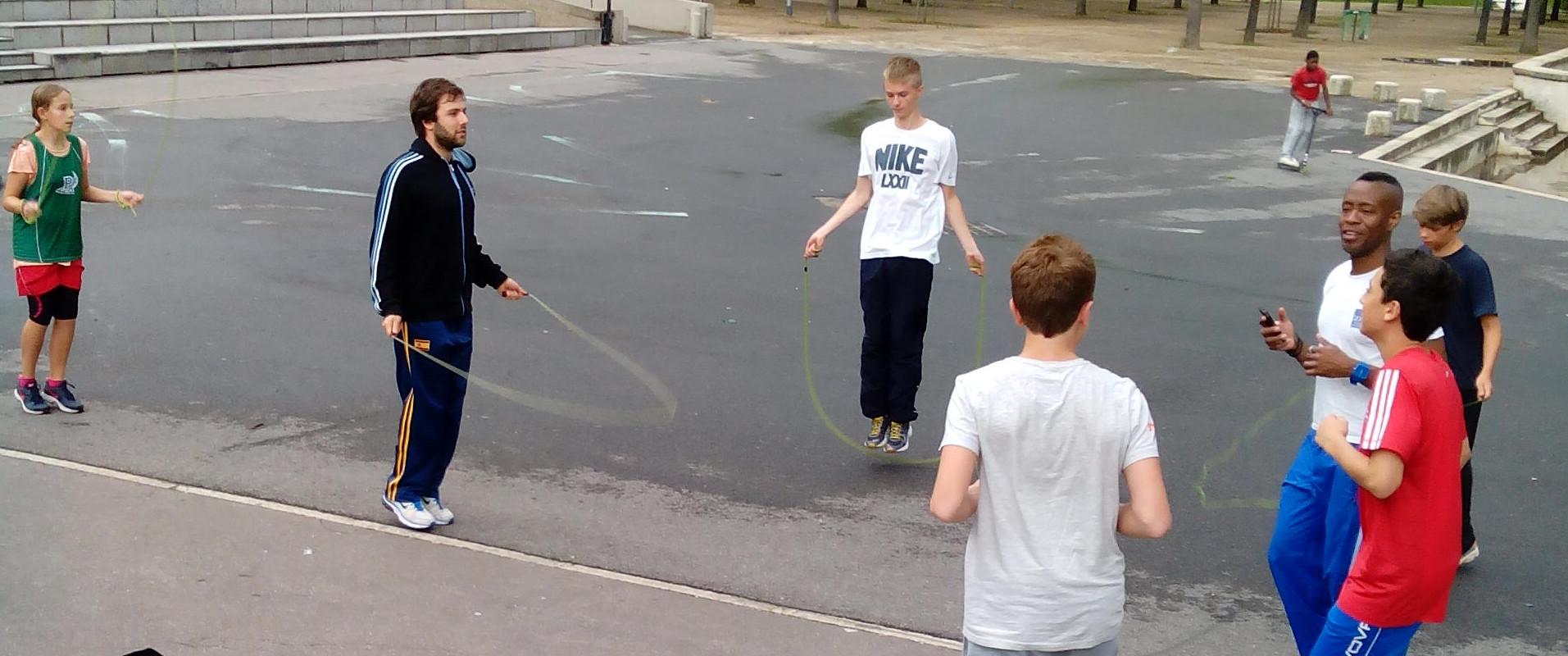 préparation sportive -Aout 2014