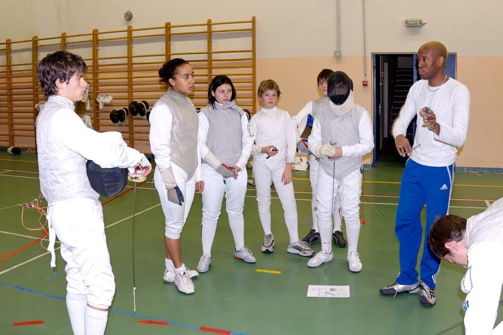 Groupe minimes Gymnase Bretonneau( Paris 20ème) Paris 2006