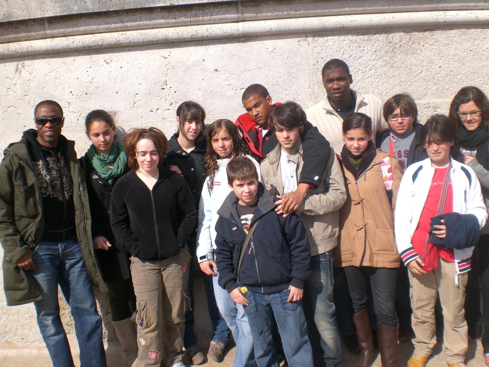 Échange Franco-espagnol Paris 2008