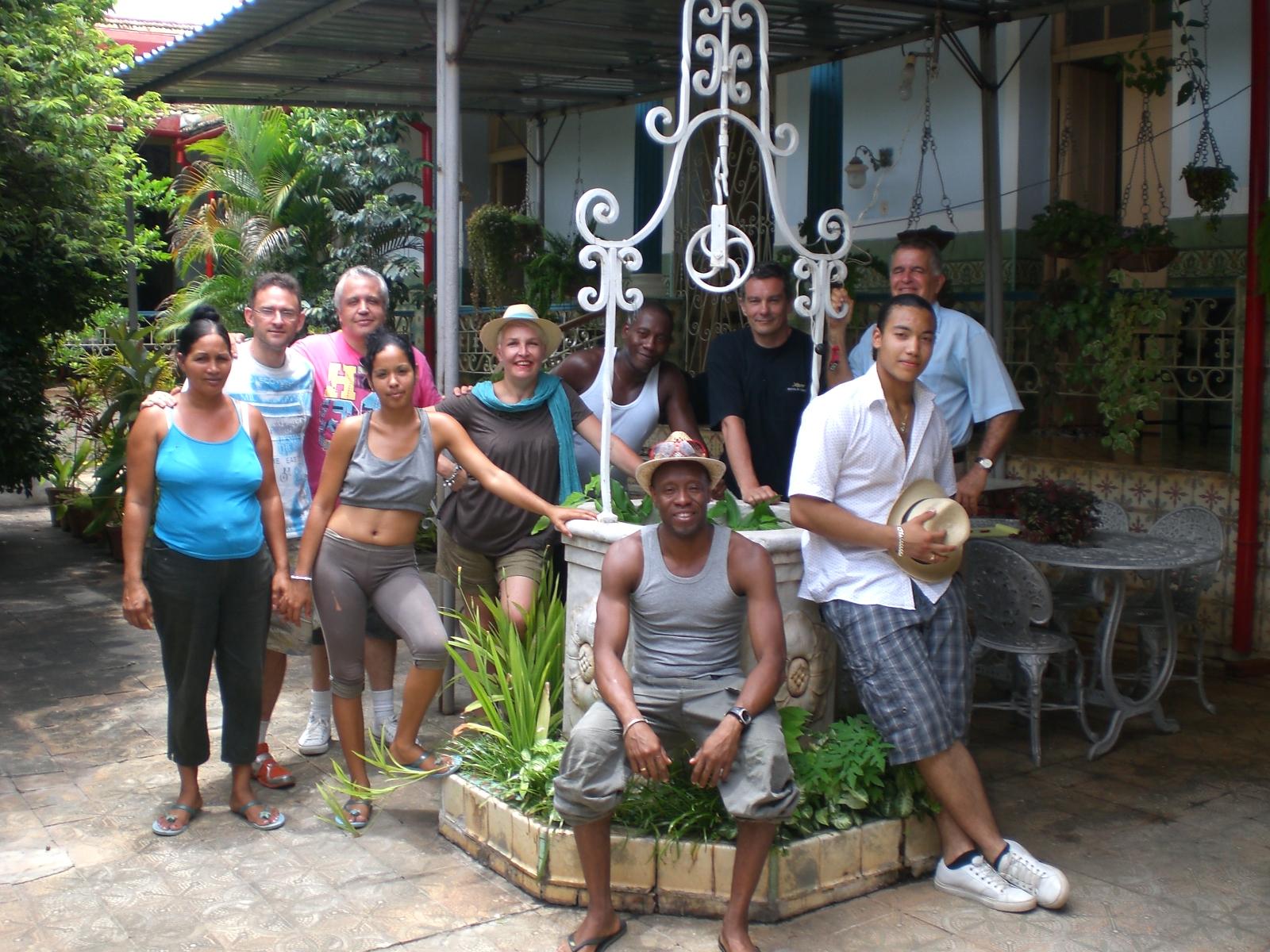 2ème Stage international à Cuba