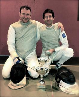 Hervé Dewez & Thiébaud Liénart (Champion d'île de France & 3ème place 2012 et 2013 )