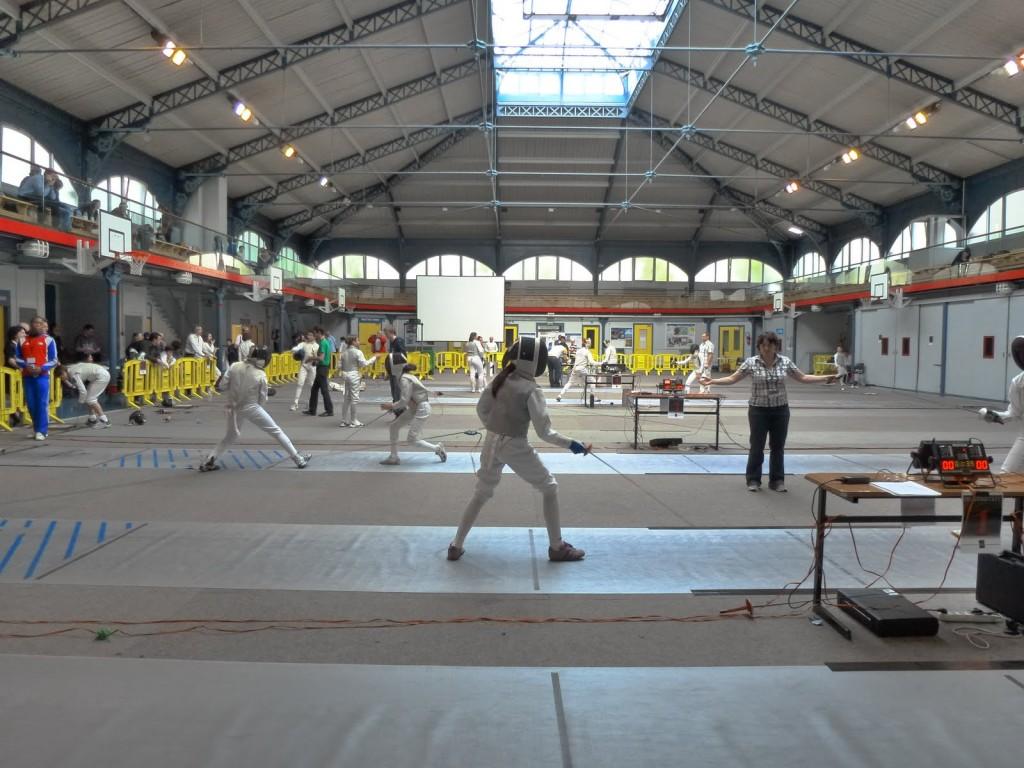 1er challenge CEFC - gymnase Japy (Paris XIe)