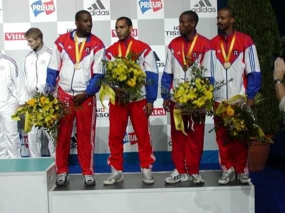 L'équipe Cuba