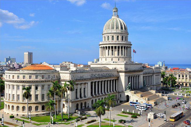 Capitólio de Havana, sede da Assembleia Nacional do Poder Popular.