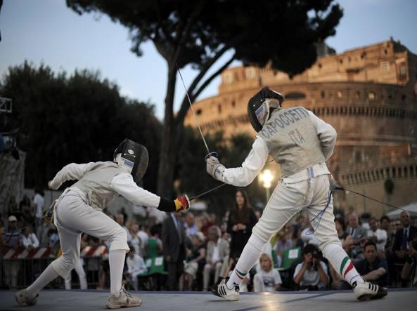 stage athlétique à Rome février 2015