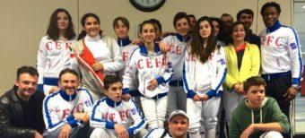 Championnats de Paris Cadets et Ligue n°1 (18 Janvier 2015 Montparnasse)