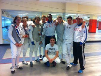 Championnat de Paris par équipes, fleuret  Junior