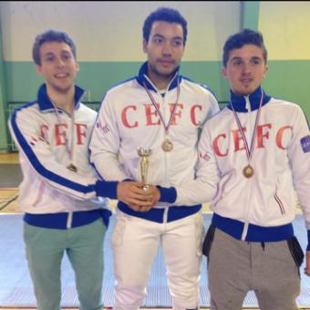 Championnat de Paris Fleuret Hommes – Par équipes