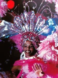 Livia Trevejo au cabaret Tropicana de Cuba