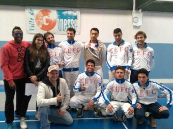 Les séniors CEFC qualifiés pour les France N3 !
