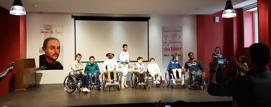 Le podium des jeunes