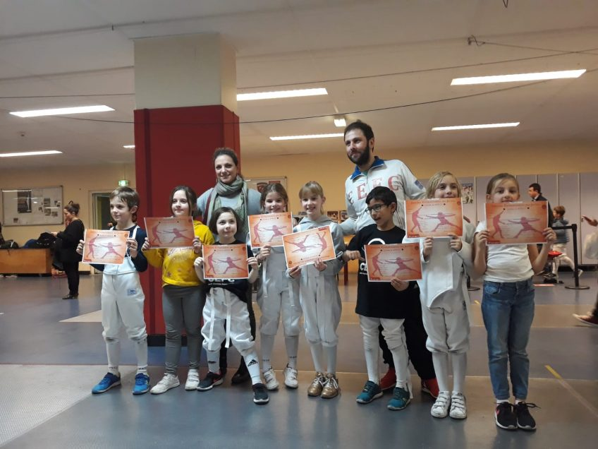 Inscriptions compétitions : EDJ & Adultes Loisirs (06-07 avril 2019)