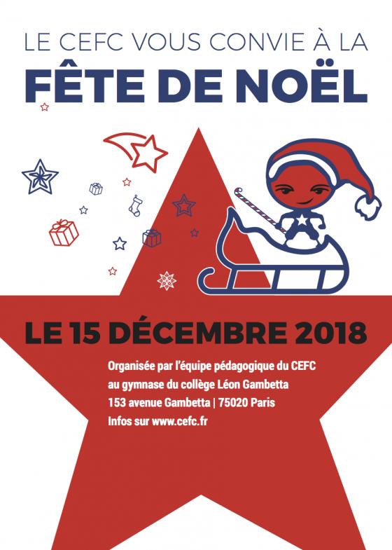 FÊTE DE NOËL 2018 AU CEFC !