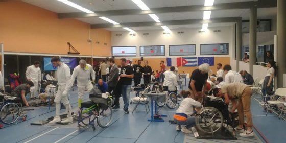 Championnat Régional Handisport 2019 : Escrime pour tou.te.s au CEFC !