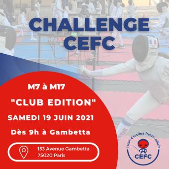 """Challenge """"club"""" CEFC"""